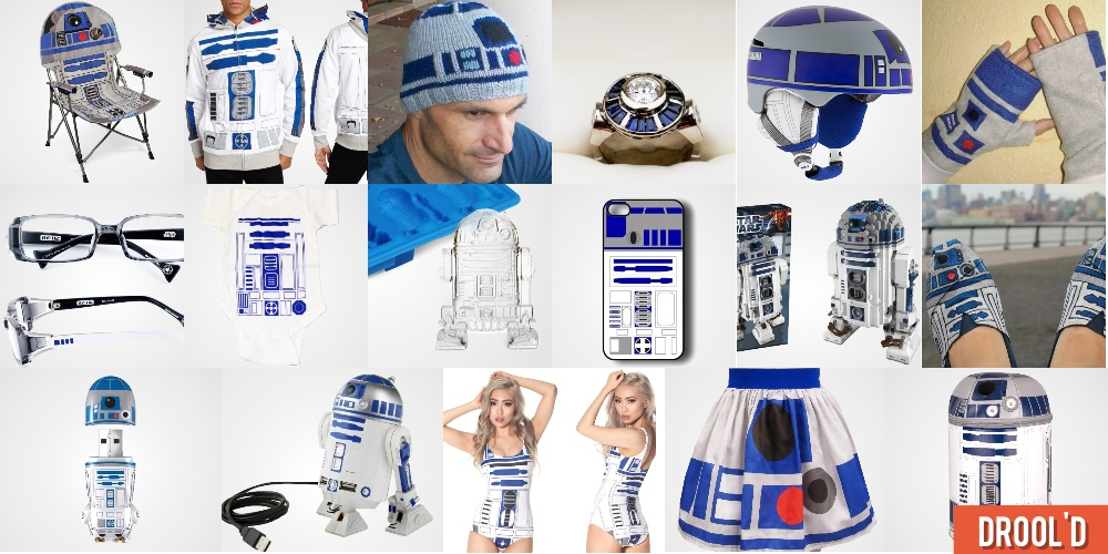 18 R2 D2 Goodies For Star Wars Fans