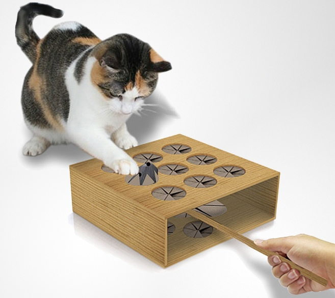 cat whack a mole engaging fun for your favorite feline