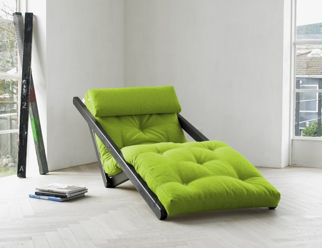 Figo Convertible Futon Chair Bed