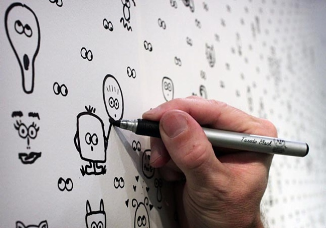 I See You A DIY Interactive Wallpaper By Cavern