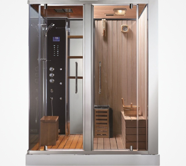 Steam Shower Sauna Combo By Aquapeutics