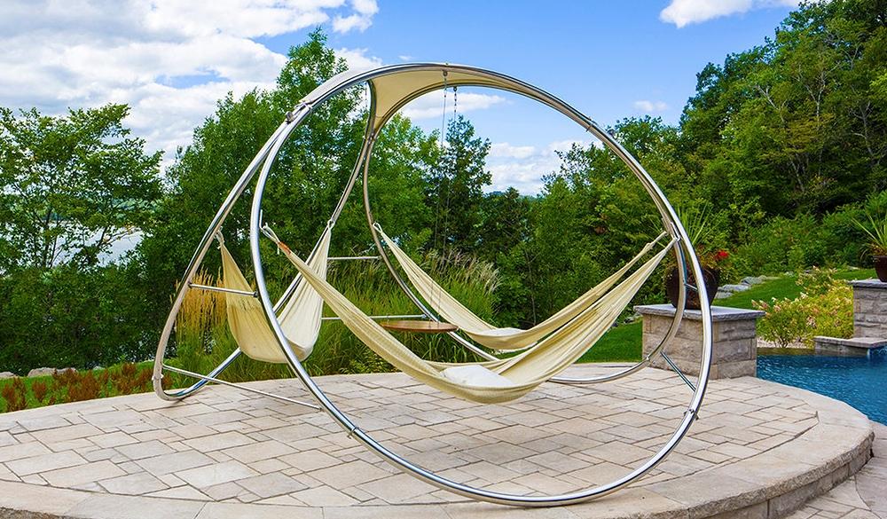 hammock stand triple hammocks from trinity design milk