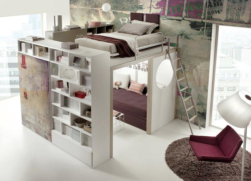 10 SpaceSaving Bedroom Furniture Ideas by Tumidei Spa