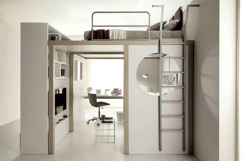 Space Saving Furniture Bed Cheap Inhabitat 10 Spacesaving Bedroom Furniture Ideas By Tumidei Spa