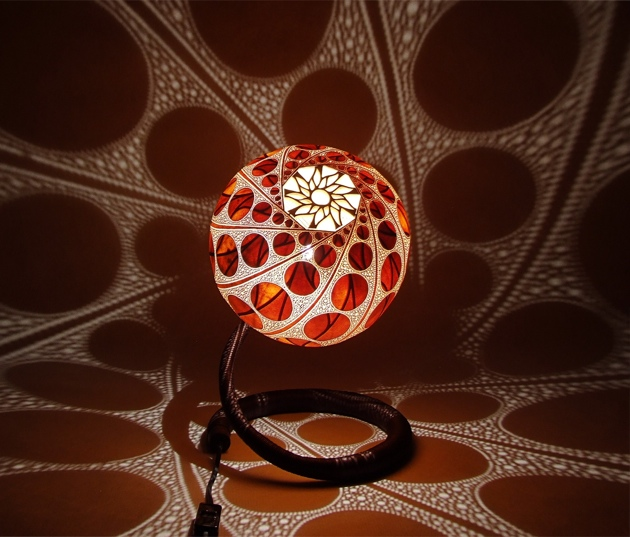 Through The Thousands Of Holes Carefully Carved On The Unique Spherical  Layer Of Each Gourd, Light Is Projected In A Distinctive Pattern, Feeding  Your Eyes ...
