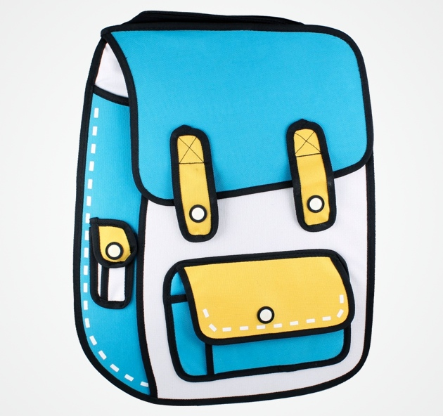 Cartoon-Inspired Bags