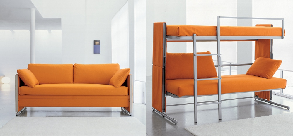 Sofa That Converts To A Bunk Bed This Sofa Turns Into A