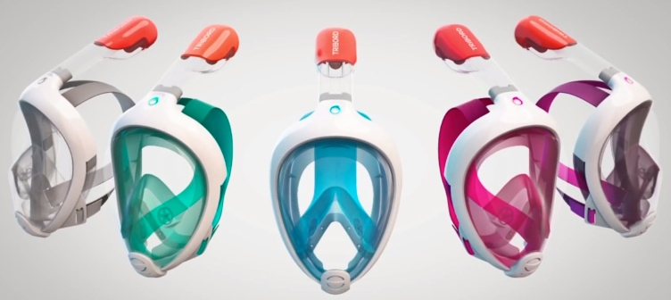 Easybreath The First Full Face Snorkeling Mask