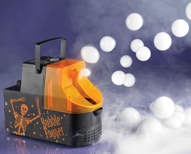 Halloween Fogger theres nothing like a layer of fog floating ominously through the night air to really add a scare to your halloween festivities fog has that foreboding Bubble Fogger Machine