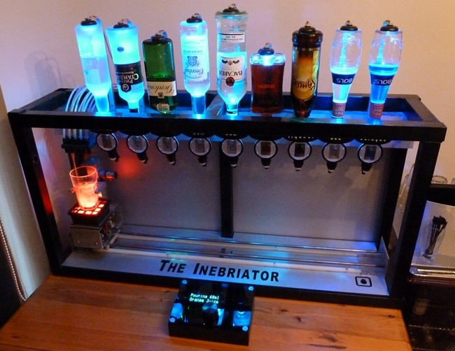 arduino powered cocktail machine that makes any drink. Black Bedroom Furniture Sets. Home Design Ideas