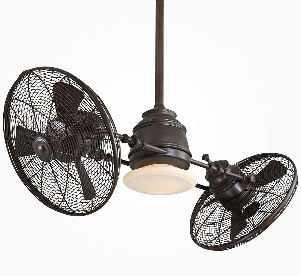 Twin turbofan heads ceiling fan aloadofball Images