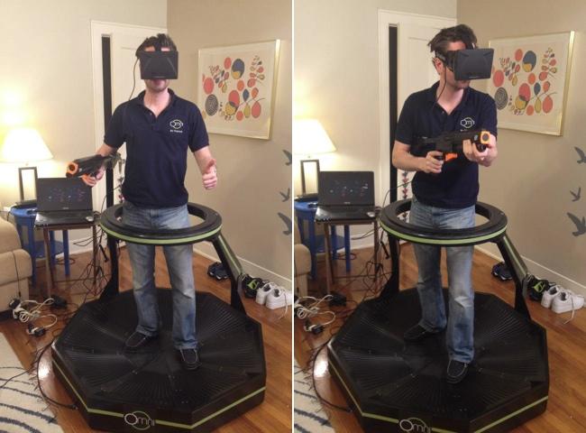 Omni A Treadmill For Virtual Reality Applications