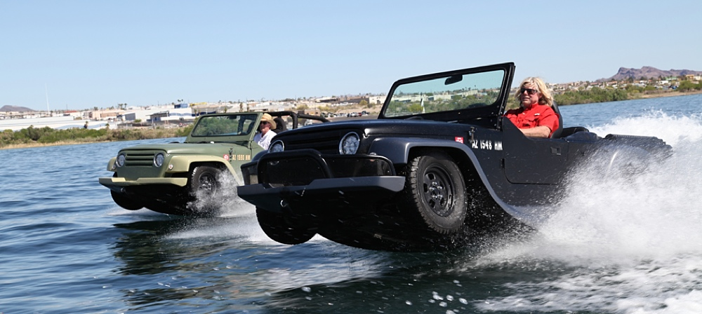 watercar panther an amphibious vehicle that looks like a jeep. Black Bedroom Furniture Sets. Home Design Ideas