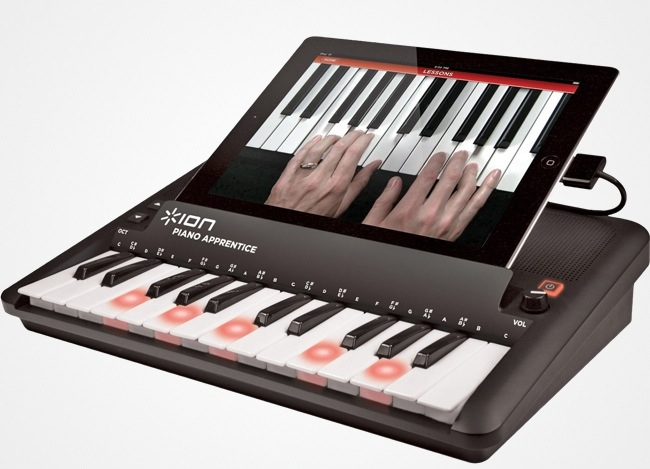 a piano learning keyboard for your ios device. Black Bedroom Furniture Sets. Home Design Ideas