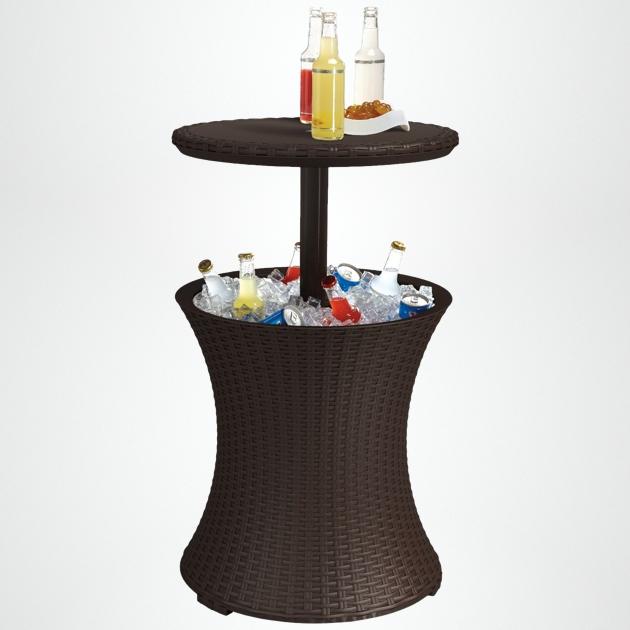 Cool An Outdoor Cocktail Table With Built In Cooler Inzonedesignstudio Interior Chair Design Inzonedesignstudiocom