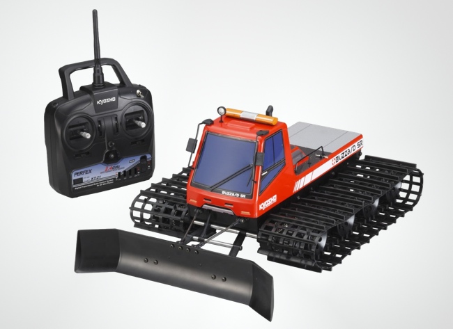 Remote Control Snow Plow : Gadgets that ll make winter a lot better