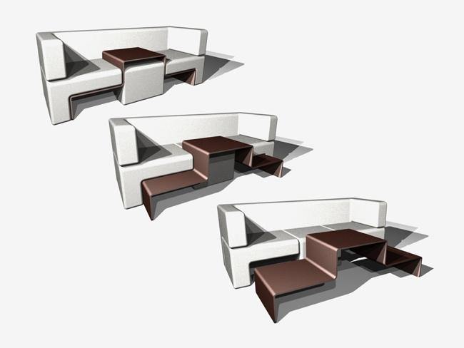 Slot Sofa A Dynamic Furniture Piece By Matthew Pauk