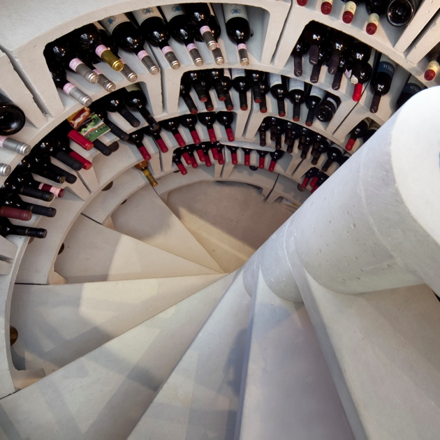 Spiral Cellars Underground Wine Storage System