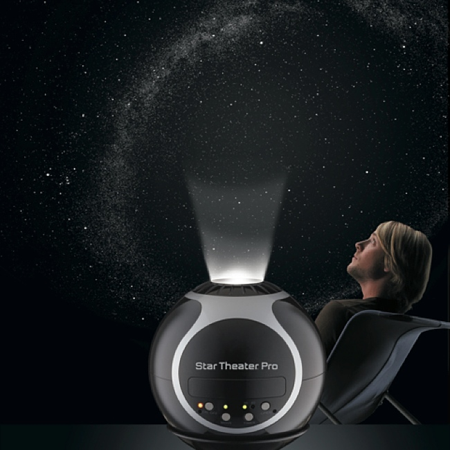 Have The Universe At Your Fingertips By Turning Your Bedroom Into A  Planetarium With Star Theater Pro, An Extraordinary Little Device That  Projects Stars ...
