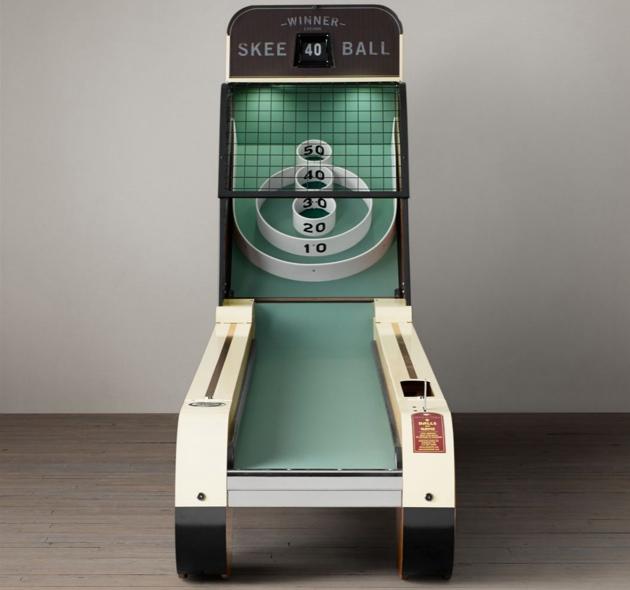 vintage skee machine