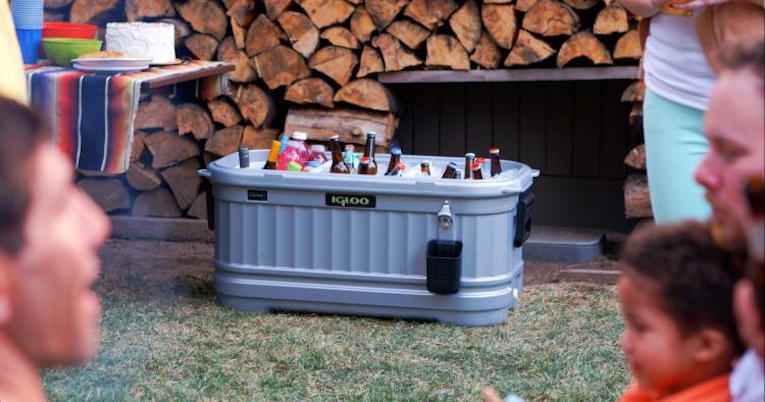 Make Your Patio Party A Little Cooler With The Igloo Party