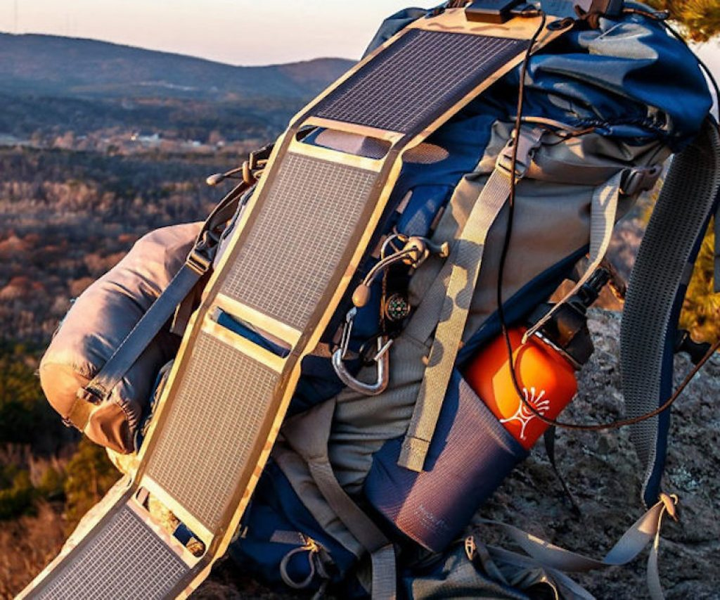Light Weight Solar Panels You Can Hang From Your Bag