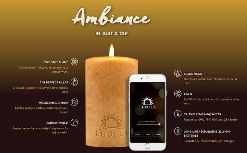 Some Features Included Are: Smart Scanning To Scan The Environment For Fire  Risk Before Ignition, Child Lock To Password Protect Your Candlelight, ...