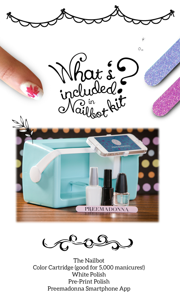 This Bot Prints Designs On Your Nails In Less Than Five Seconds