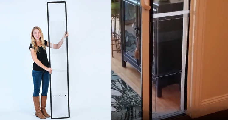 Make A Pet Door With Your Sliding Glass Door With Balcony Pets