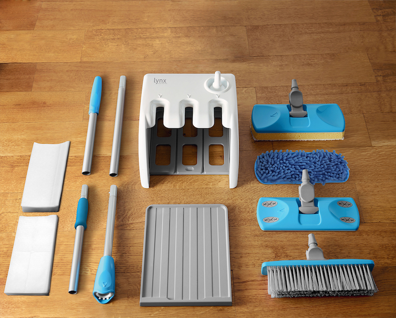 The Lynx Dock Home Cleaning Set Is A Broom Mop And