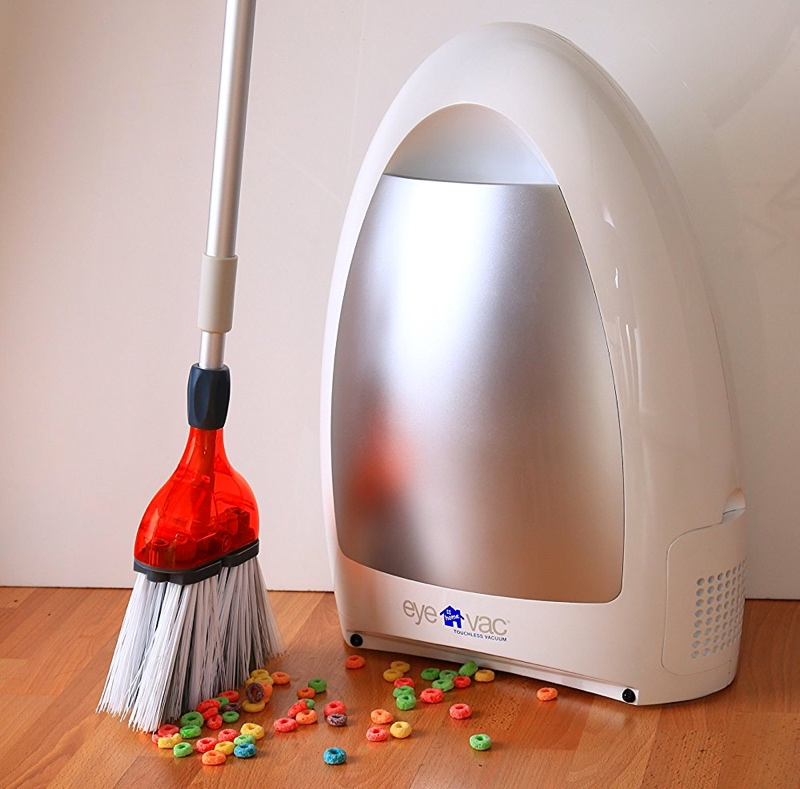 Let Your Broom And Vacuum Work Together With Eye Vac