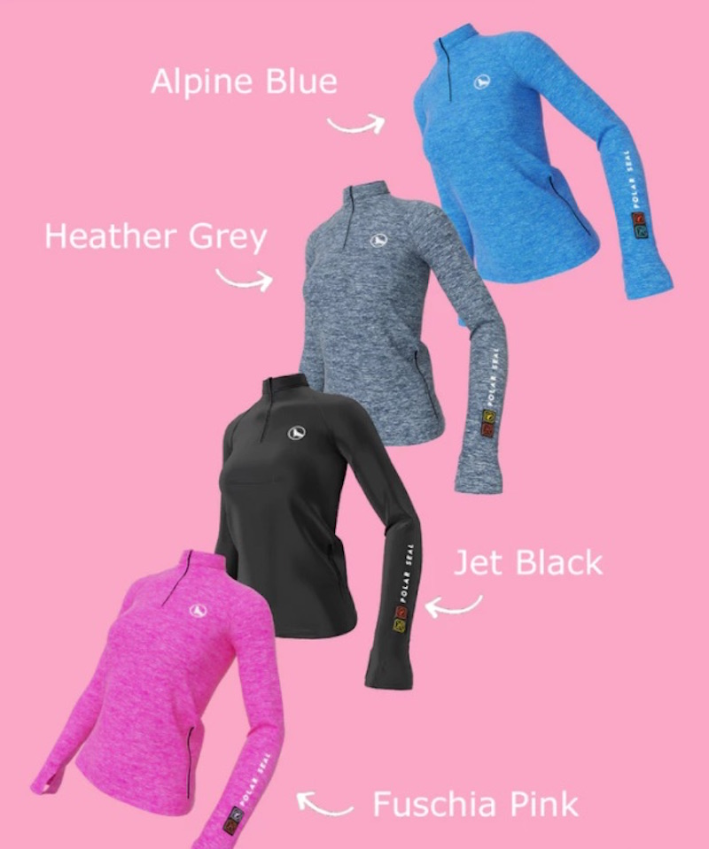 The Polar Seal Heated Tops Are Superlight Smart Tops That Give You Warmth At The Touch Of A Button