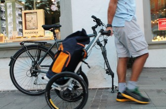 The TReGo Turns a Regular Bike into a Trolley Bike Instantly