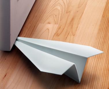 Plastic 'Paper Airplane' Doorstop