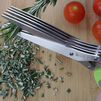 Use These Herb Scissors To Speed Up Your Herb Preparation