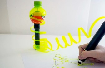 This 3D Pen Runs Entirely on Recycled Material