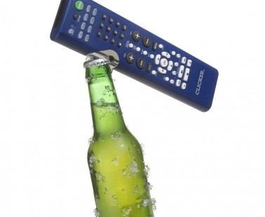 Clicker – 2 in 1 TV Remote and Bottle Opener