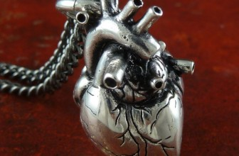 The Anatomical Heart Necklace