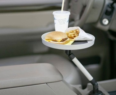 The Cup Holder Swivel Tray