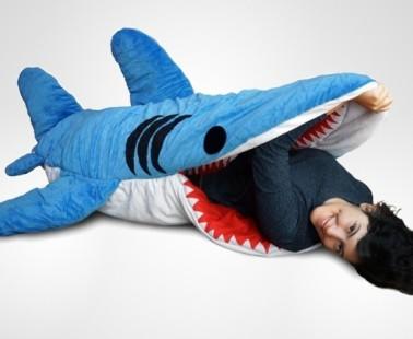 Chumbuddy: A Shark Sleeping Bag
