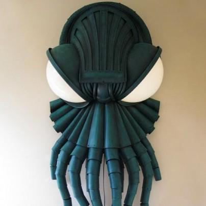 Cthulhu Lamp Sculpture