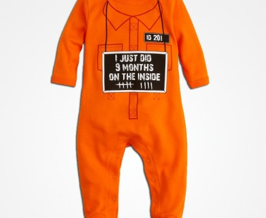 Infant Unisex 9 Month Inside Footie by Sara Kety