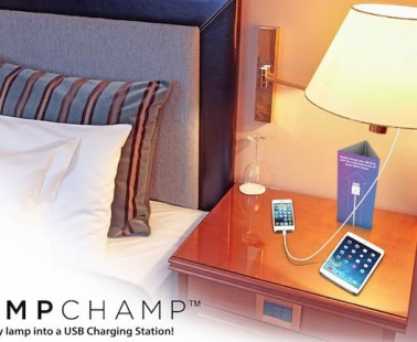 Charge Your iPhone Using Any Standard Lamp