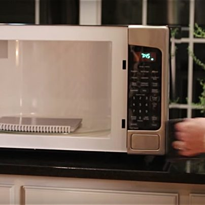 This Cloud Notebook Completely Erases When You Microwave It