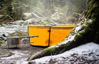 The Collapsible Hot Tub You Can Bring On Your Camping Trip