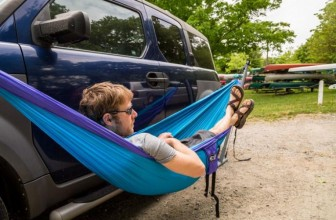 Take Your Favorite Hammock on the Road with This Clever Hammock Stand