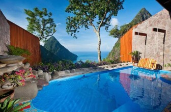 The Breathtakingly Beautiful Resort That Sits On A Volcano