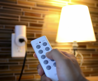 The Etekcity Wireless Electrical Outlet Lets You Control Your Outlets with One Remote