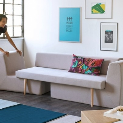 The Modular Sofa That Transforms Into A Complete Living Room Set