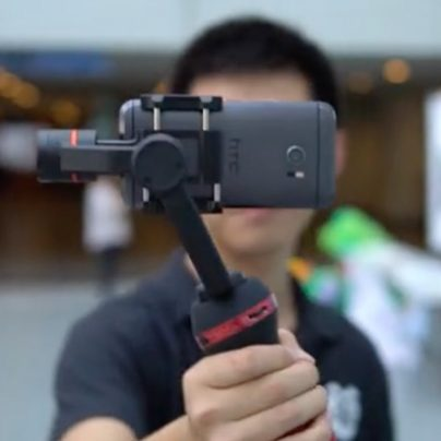 Say Goodbye to Shaky Footage with This Sleek Phone Camera Stabilizer